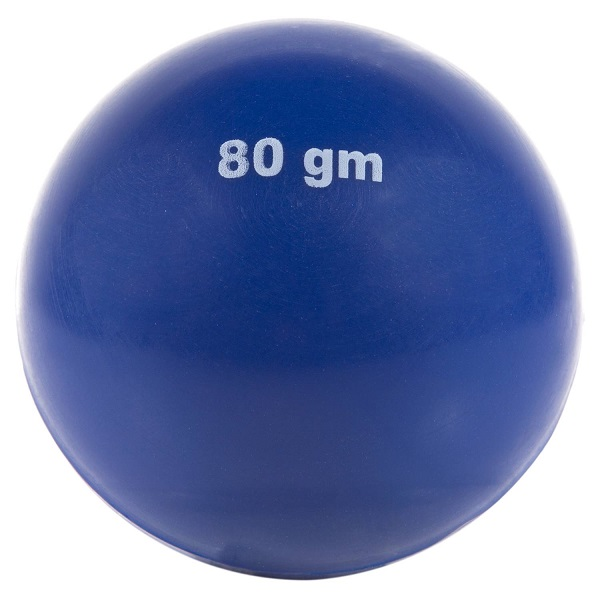 Bala - Pelotita de Lanzamiento Atletismo 80 gr.
