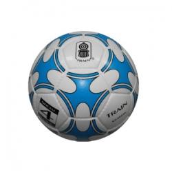 Balon de Baby futbol Train blanco/azul