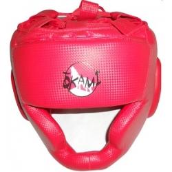Cabezal Box Okami Cubre Pomulo Rojo