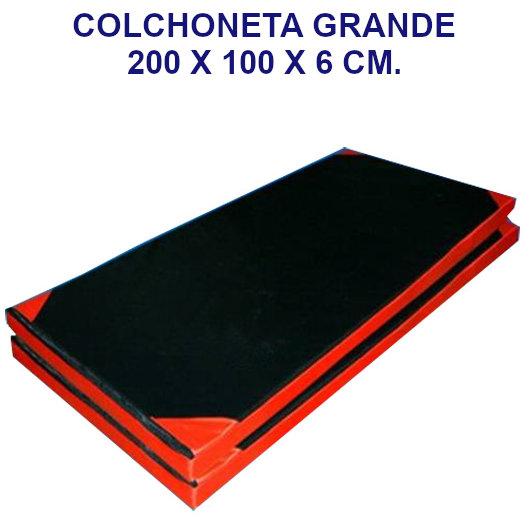 Colchoneta de ejercicio 200x100x6cm. densidad 60 tela oxford