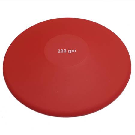 Disco de Lanzamiento de Iniciacion 200 gr. Goma