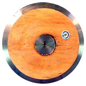 Disco de Atletismo Madera 1.5 kg.