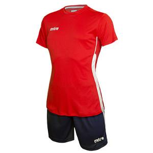 Equipo de Futbol Mitre Milan Mujer Rojo