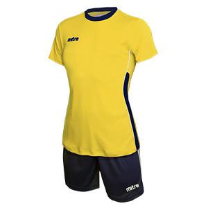 Equipo de Futbol Mitre Milan Mujer Amarillo