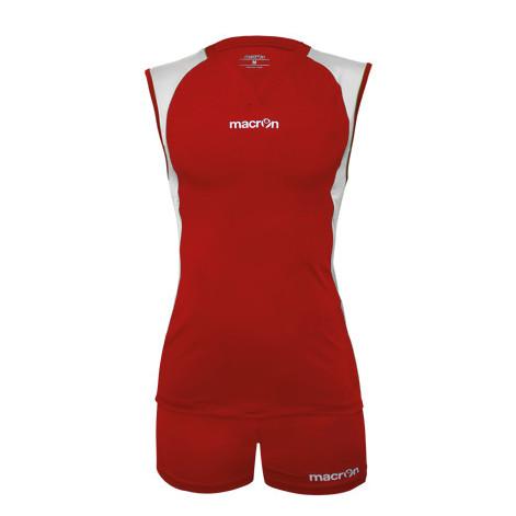 Equipo Voleibol - Hockey Macron Florencia Rojo - Blanco