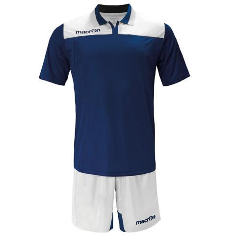 Equipo de Futbol Macron Roma Azul Marino - Blanco