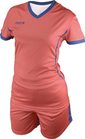 Equipo de Futbol Mitre Atenas Mujer Rojo - Azul
