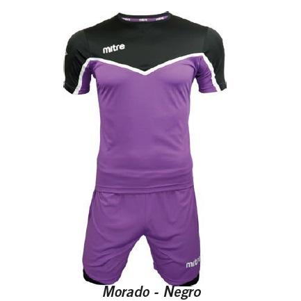 Equipo de Futbol Mitre Chelsea Morado - Negro