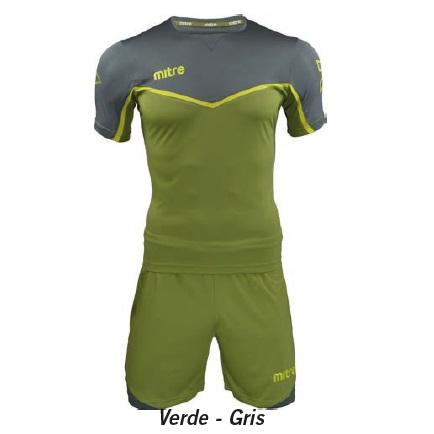 Equipo de Futbol Mitre Chelsea Verde - Gris