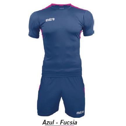 Equipo de Futbol Mitre Manchester Azul - Fucsia