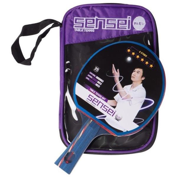 Paleta de Ping Pong Sensei 6*