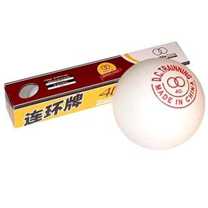 Pelota de Ping Pong Doble Circulo blanca