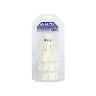 Plumilla de badminton Sufix S4 pluma