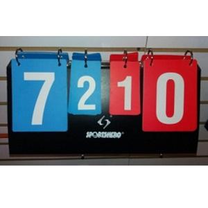 Tablero Marcador Ping Pong 40 x 18 cm. Tablero de puntuacion
