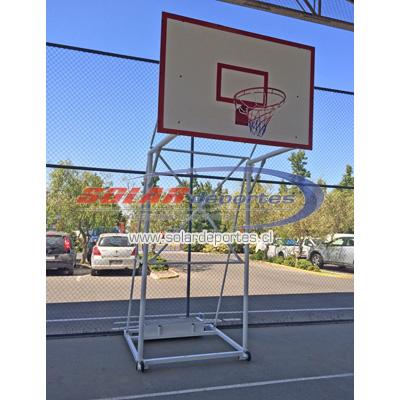 Arco - Torre de Basquetbol Oficial Transportable Desarmable - Melamina impermeabilizada