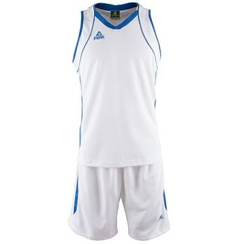 Kit - Set de Basquetbol Peak Mujer Blanco - Azul