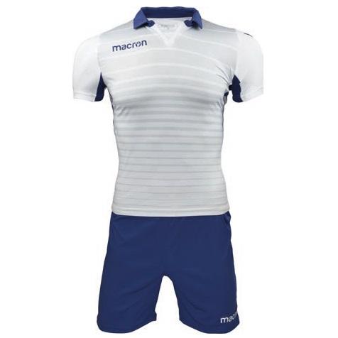 Equipo de Basquetbol Macron Tabit Blanco - Azul Marino