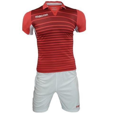 Equipo de Basquetbol Macron Tabit Rojo - Blanco