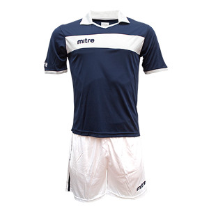 Equipo - Uniforme de Futbol Mitre London Azul Marino/Blanco