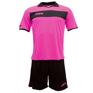 Equipo - Uniforme de Futbol Mitre London Rosado/Negro