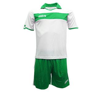 Equipo - Uniforme de Futbol Mitre London Blanco/Verde