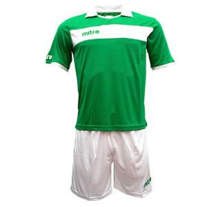 Equipo - Uniforme de Futbol Mitre London Verde/Blanco
