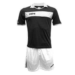 Equipo - Uniforme de Futbol Mitre London Negro/Blanco