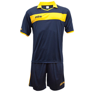 Equipo - Uniforme de Futbol Mitre London Azul Marino/Amarillo