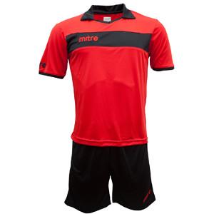 Equipo - Uniforme de Futbol Mitre London Rojo/Negro