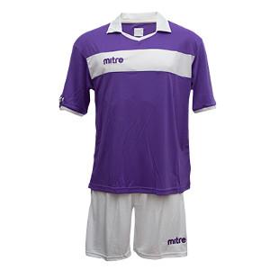Equipo - Uniforme de Futbol Mitre London Morado/Blanco