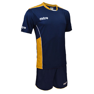Equipo - Uniforme de Futbol Mitre Oxford Azul Marino/Amarillo