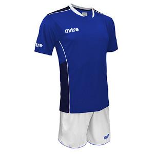 Equipo - Uniforme de Futbol Mitre Oxford Azulino/Blanco