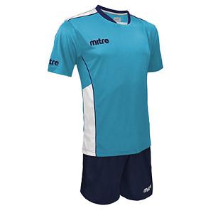 Equipo - Uniforme de Futbol Mitre Oxford Celeste/Azul Marino