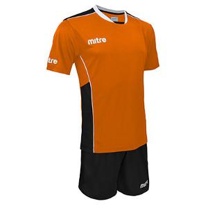 Equipo - Uniforme de Futbol Mitre Oxford Naranjo/Negro