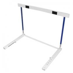 Valla de salto metalica ajustable, 84x120 cm
