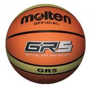 Balon de Basquetbol N°5 Molten gr5 - naranja - goma