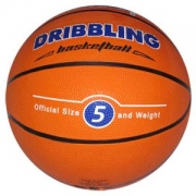 Balon de Basquetbol Nº5 DRB goma naranja