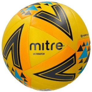 Balon de Futbol Mitre ULTIMATCH Amarilla