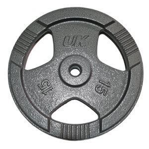 Disco con Asas Metalico Pre Olimpico 15kg