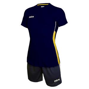 Equipo de Futbol Mitre Milan Mujer Azul