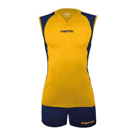 Equipo Voleibol - Hockey Macron Florencia Amarillo - Azul Marino