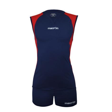 Equipo Voleibol - Hockey Macron Florencia Azul Marino - Rojo