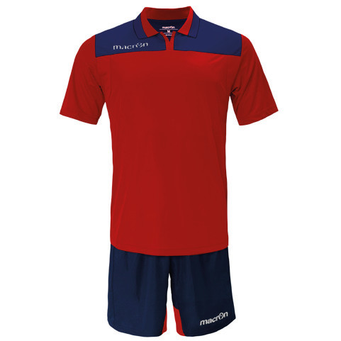 Equipo de Futbol Macron Roma Rojo - Azul Marino