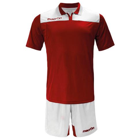 Equipo de Futbol Macron Roma Rojo - Blanco