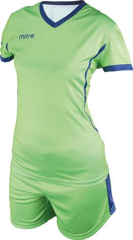 Equipo de Futbol Mitre Atenas Mujer Verde - Azulino