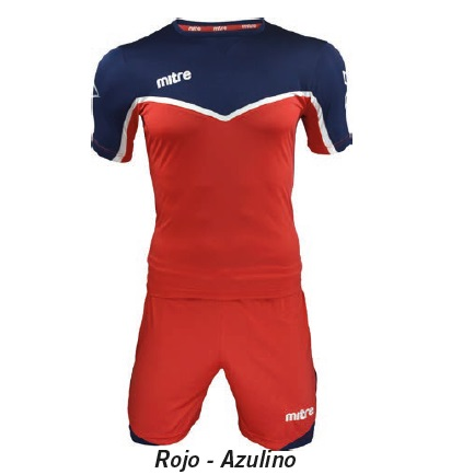 Equipo de Futbol Mitre Chelsea Rojo - Azulino