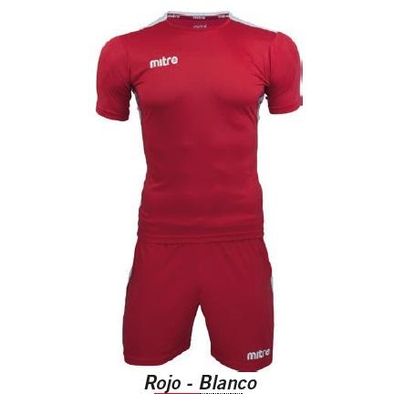 Equipo de Futbol Mitre Manchester Rojo - Blanco