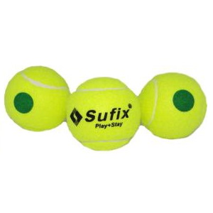 Pelotas de Tenis Sufix Punto Verde
