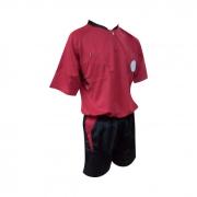 Uniforme de Arbitro Cafu Rojo