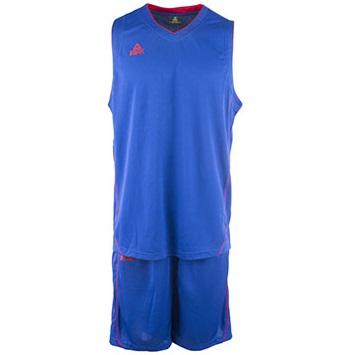Kit de Basquetbol Peak Hombre Azul - Rojo